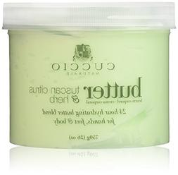Cuccio Tuscan Citrus and Herb Butter Blend Hydrating Treatme