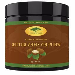 Vanilla Whipped African Shea Butter - Organic Moisture for