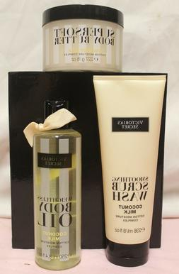 Victoria's Secret Coconut Milk Body Butter, Scrub Wash or Bo