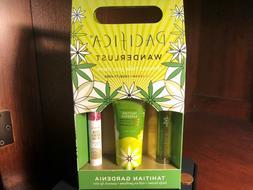 PACIFICA Wanderlust Tahitian Gardenia 3 Pc Set: Perfume, Bod