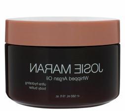 Josie Maran Whipped Argan Oil Body Butter, 19oz, Creamy Vani
