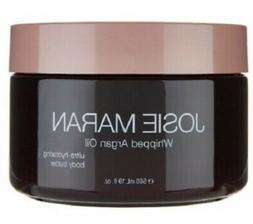 Josie Maran Whipped Argan Oil Body Butter, 19oz, Creamy Vani