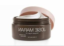 Josie Maran Whipped Argan Oil Body Butter, 8oz, Toasted Brow
