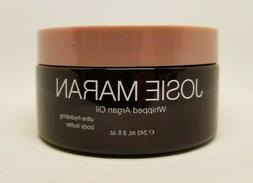JOSIE MARAN WHIPPED ARGAN OIL BODY BUTTER PURE VANILLA BEAN