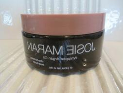 JOSIE MARAN WHIPPED ARGAN OIL BODY BUTTER TOASTED BROWN SUGA