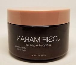 JOSIE MARAN WHIPPED ARGAN OIL BODY BUTTER UNSCENTED LIGHT BR