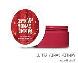 Bath & Body Works WINTER CANDY APPLE BODY BUTTER 6.5 oz / 18